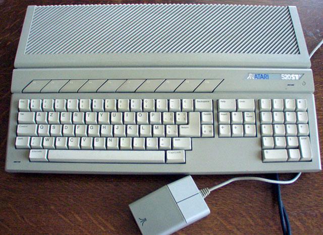 Atari 520 STE 1MB RAM